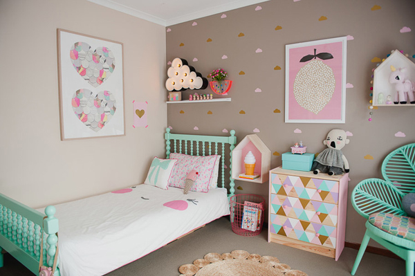 Amazing ideas for decorating kid rooms by daveyboystoys.com.au