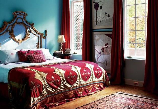 Фото: спальня в восточном стиле