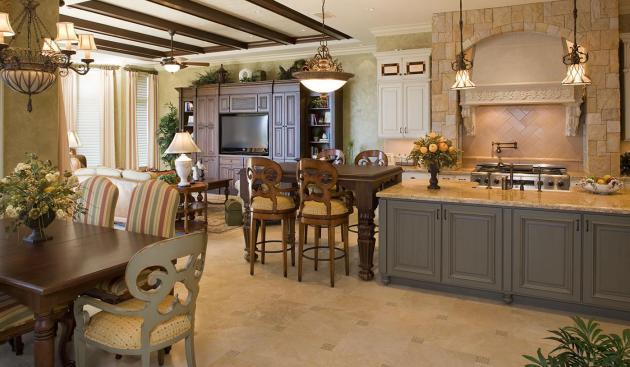 Фото: кухня-столовая