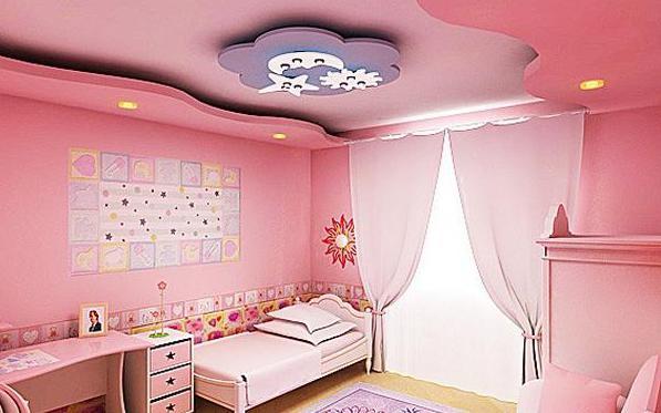Фото: многоуровневый потолок