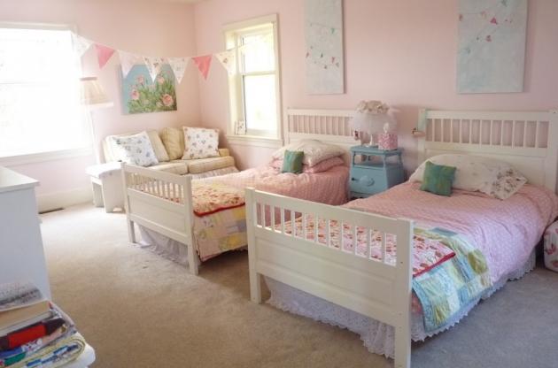 Фото: комната для двоих детей в стиле шебби-шик