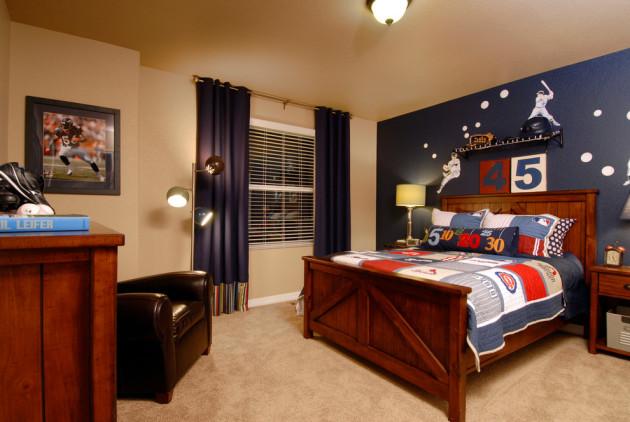 Фото: детская комната для мальчика