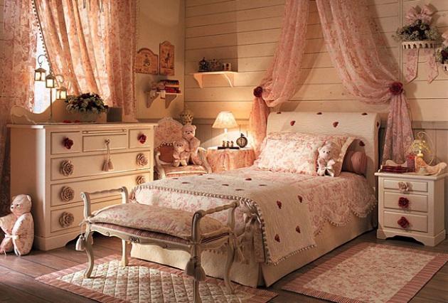 Фото: детская комната в стиле прованс