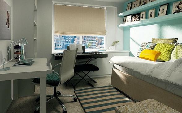 Фото: дизайн маленькой комнаты