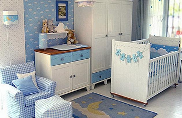 Фото: удобное кресло в интерьере комнаты для новорожденного