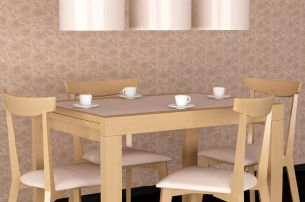 Фото: грамотное сочетание цвета обоев и мебели