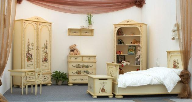 Фото: роспись мебели
