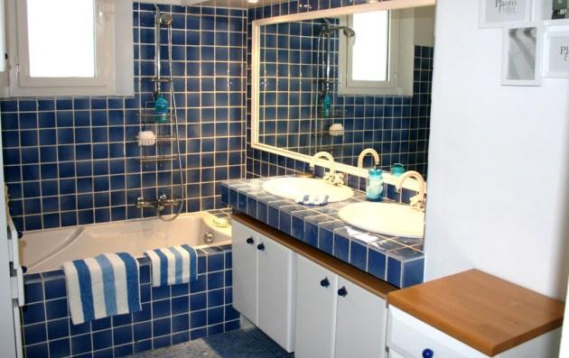 Фото: ванная в морском стиле