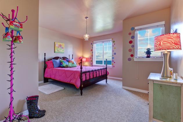 Фото: детская комната для девочки