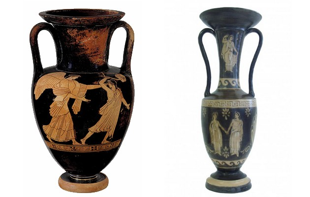 Фото: греческие вазы