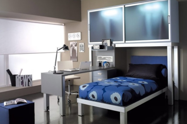Фото: комната в стиле хай-тек