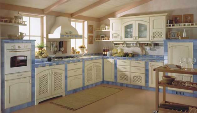 Фото: ковролин в интерьере кухни