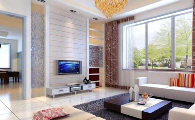 Фото: гостиная в минималистическом стиле