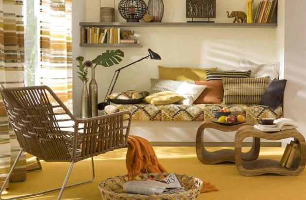 Фото: плетеное кресло