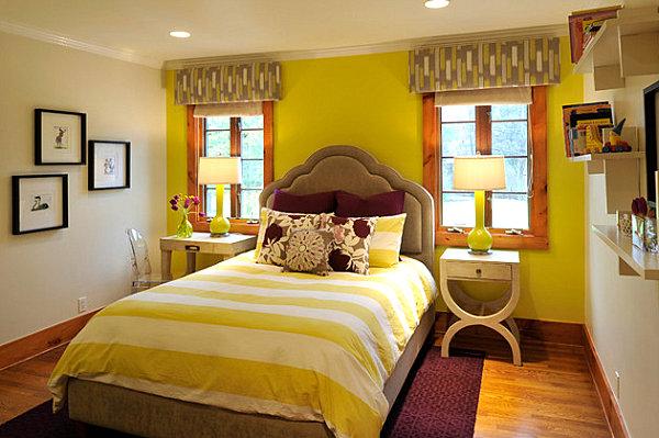 Фото: желтый цвет, наполняющий энергией, дарящий тепло и чувство защищенности лучше всего подойдет для оптимистов