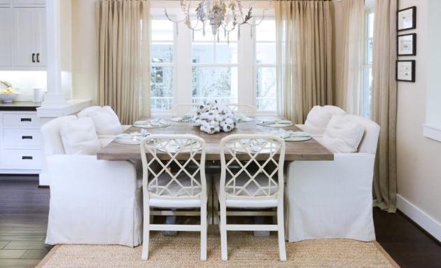 Фото: столовая в стиле шебби шик