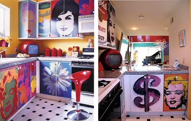 Фото: декупаж кухонного гарнитура