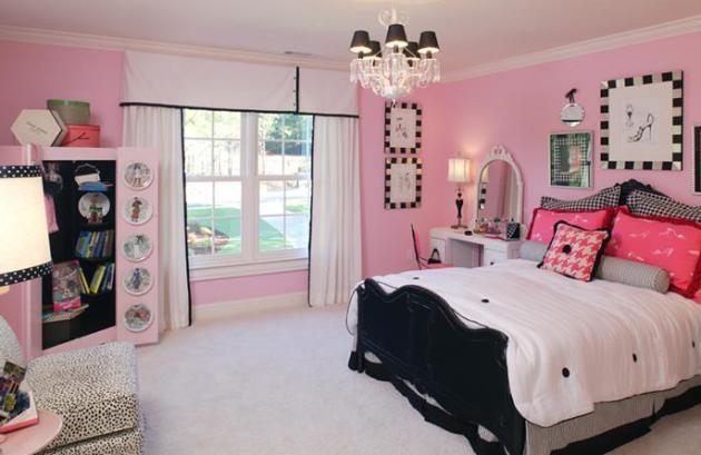 Фото: спальня для девушки