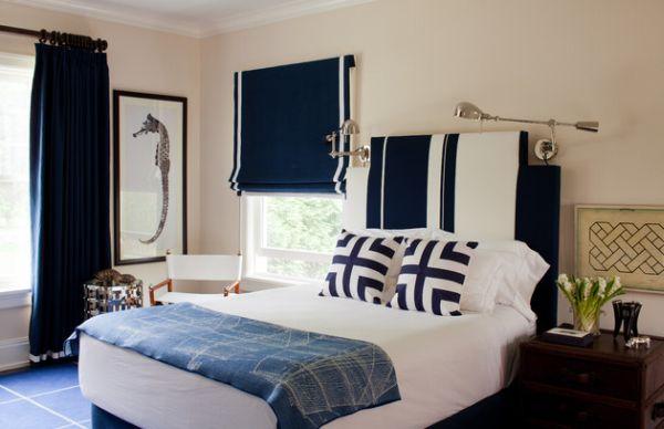 Фото: детская комната в морском стиле для мальчика
