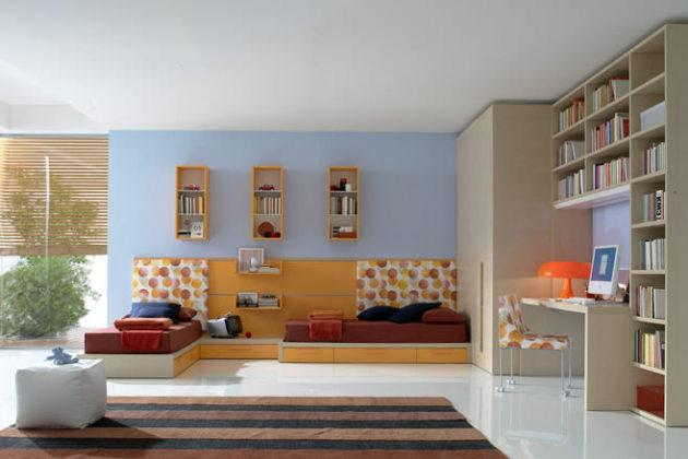 Фото: детская комната в стиле минимализм