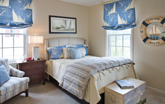 Фото: комната в морском стиле