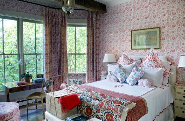 Фото: спальня в стиле прованс