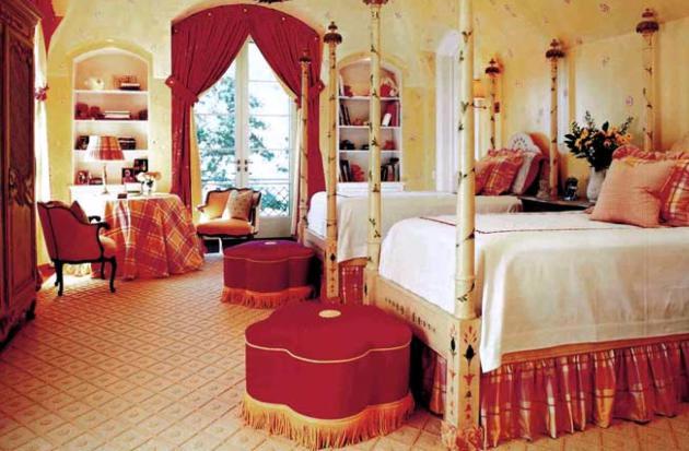Фото: спальня в марокканском стиле