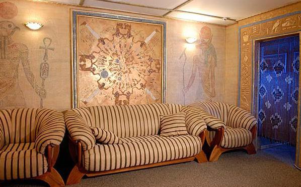 Фото: декорирование стен фресками