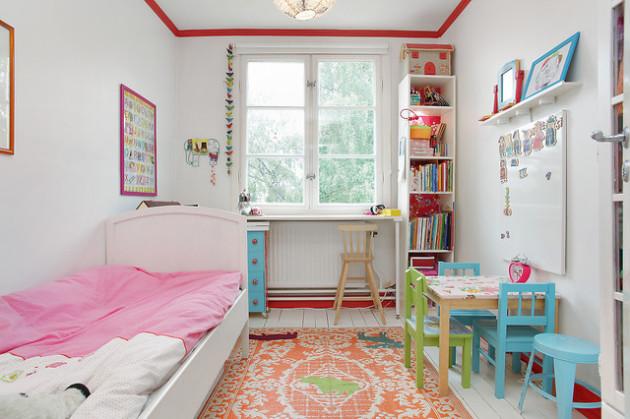 Фото: детская комната в стиле эклектика