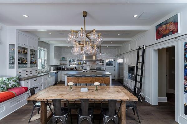 Фото: кухня в стиле кафе