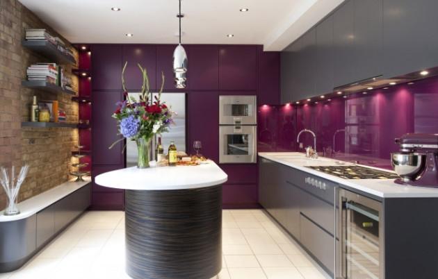 Фото: кухня в стиле хай-тек