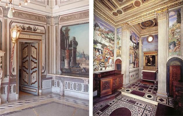 Фото: роспись стен в интерьере прихожих
