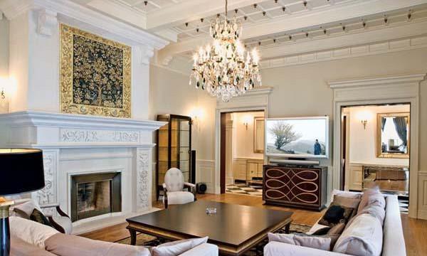 Фото: гостиная классического стиля