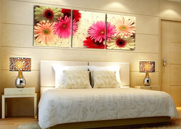Фото: изображения с нежными цветами помогут расслабиться после тяжелого рабочего дня