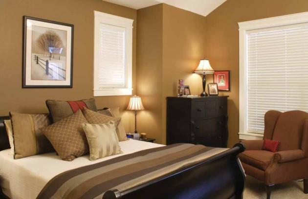Фото: бежевые тона идеально подойдут для небольших комнат