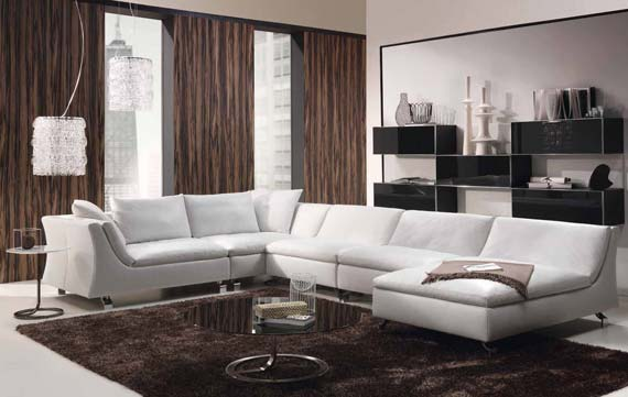 Фото: модульный угловой диван