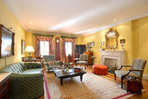Фото: гостиная в классическом стиле