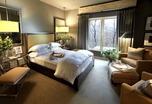 Фото: цветы напротив зеркал добавят оригинальности в интерьер вашей комнаты