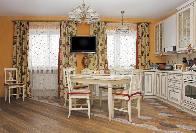 Фото: классические шторы