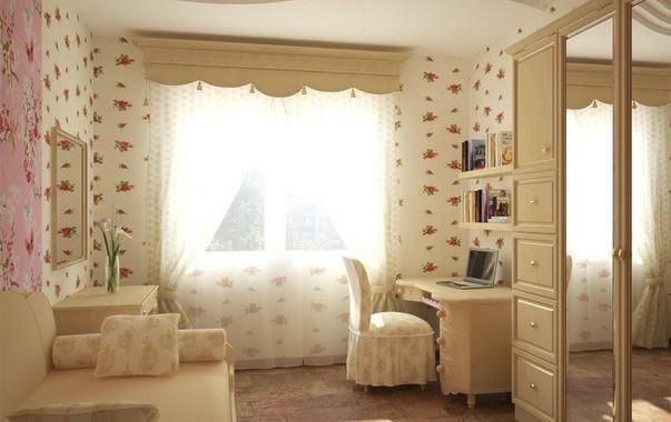 Фото: комната в стиле романтизм