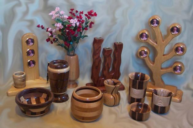 Фото: деревянные декоративные аксессуары