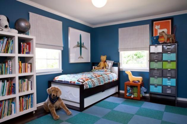 Фото: ковролин в комнате для мальчика