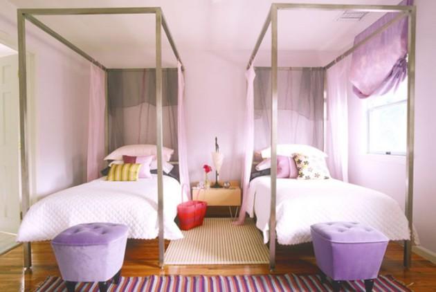 Фото: декорирование кроватей балдахином