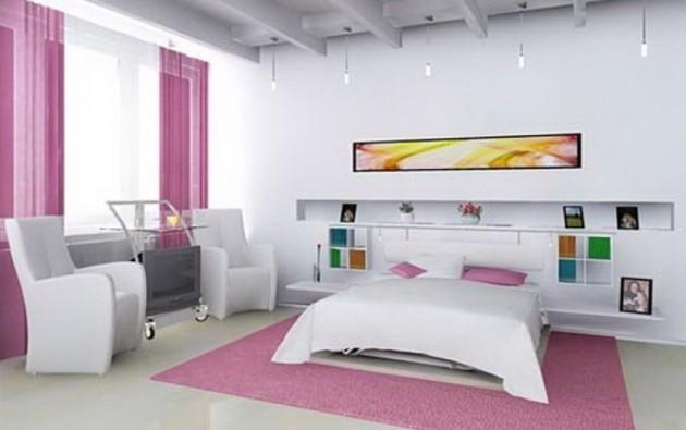 Фото: современный дизайн комнаты для девочки-подростка