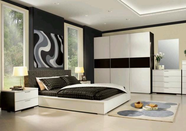 Идея дизайна 2017 года для оформления спальни