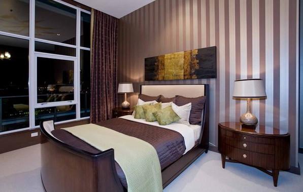 Дизайн спальни в кофейных тонах