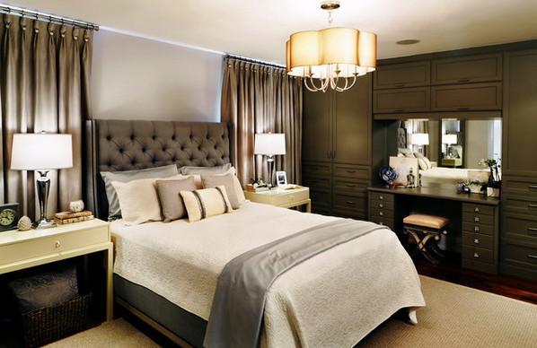 Идея дизайн спальни в классическом стиле