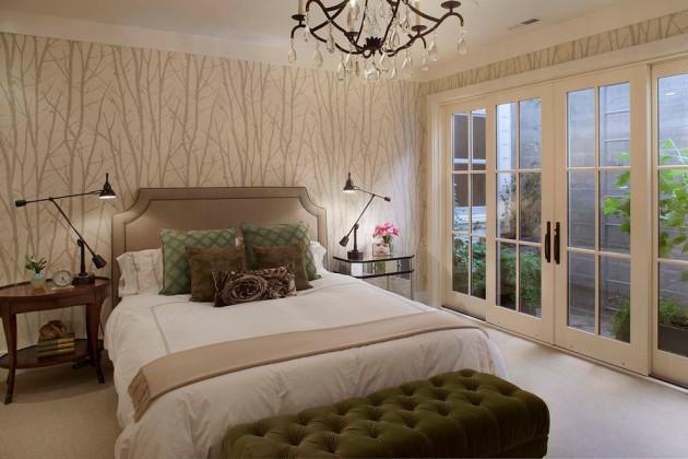 Дизайн-проект спальни в светлых тонах