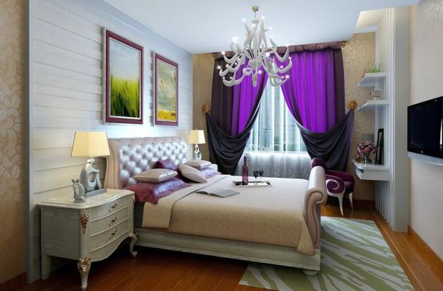 Дизайн-проект небольшой спальни