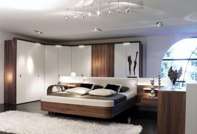 Минималистичный дизайн спальни